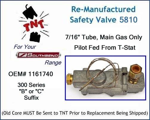 Southbend Range 1162932 Front Burner Assembly